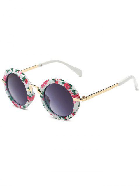 Anti-Ermüdung Full Frame flache Linse Oval Sonnenbrillen - Rauchiges Grau  Mobile