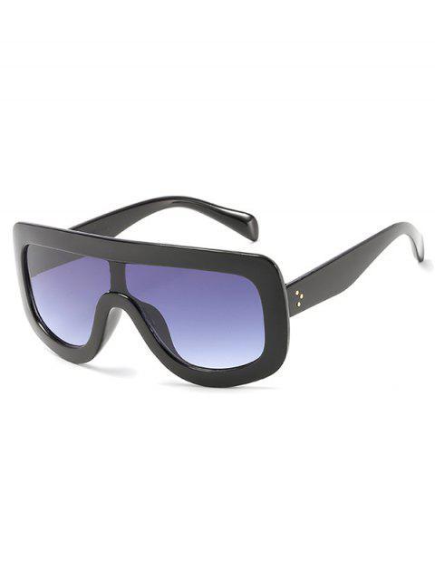 Gafas de sol con escudo extragrande y anti fatiga - Negro  Mobile