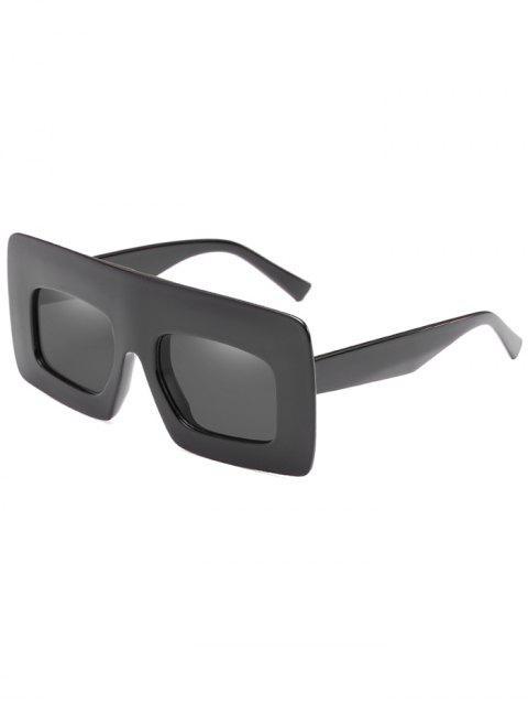 Anti-Ermüdung-breite Rahmen-Sonnenbrille-Sonnenbrille - Schwarz  Mobile
