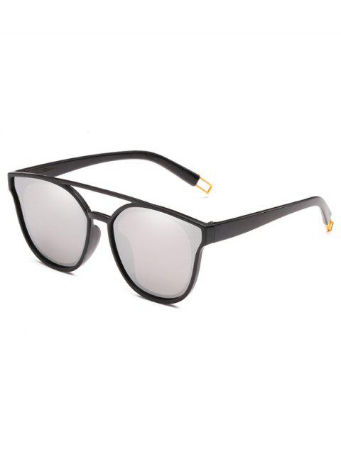 online Anti Fatigue Crossbar Decorative Sunglasses - PLATINUM  Mobile