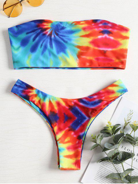 Conjunto de bikini Tie Dye - Multicolor-A M Mobile
