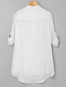 Bajo Medio Blanco Vestido 243;n S Bot Alto qfaf6I