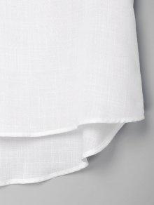 Medio Vestido Bajo 243;n Bot S Alto Blanco STxS7wra