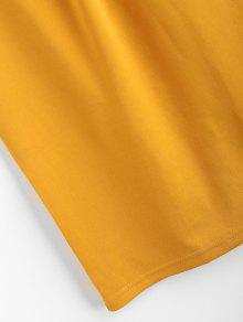 Ducky Halter Xl Brillante Amarillo Vestido Correa Bodycon Mini De Caucho Xx0zOwIq