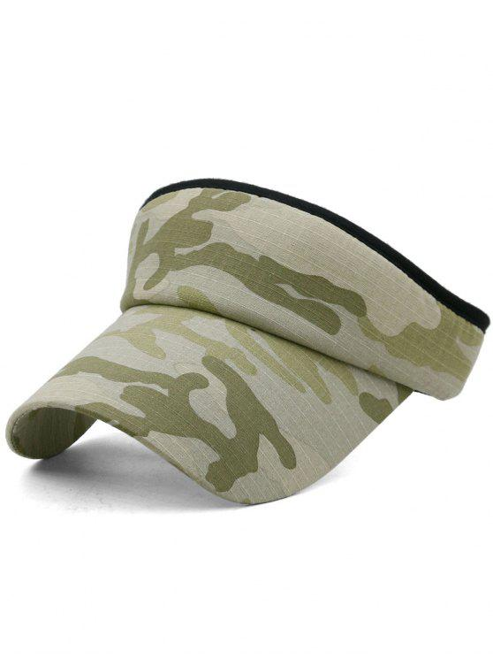 Camouflage bedruckter Open Top Sonnenschutz Hut - Multi-C