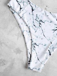 Marmol 225;s M 2x Bandeau Tama Estampado Bikini Blanco o xPqOvaEEw