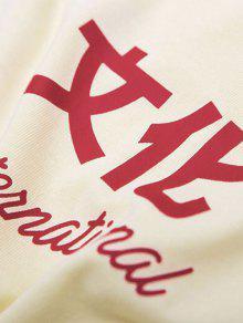 Caracteres De China M Camiseta Blanco De Con Cultura Estampada Estampado zwqOFq0