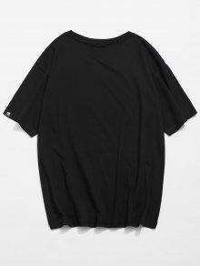Gr Impresa Remiendo Del Cartel Camiseta Del wXqaUad