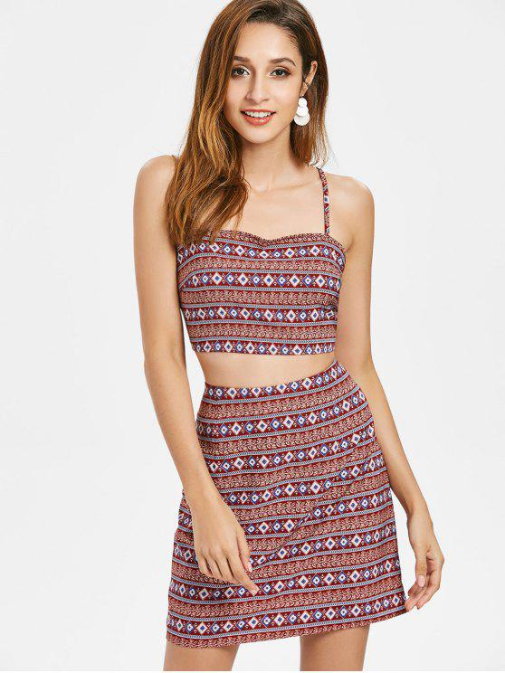 Bohemian Cami Rock Set - Multi L