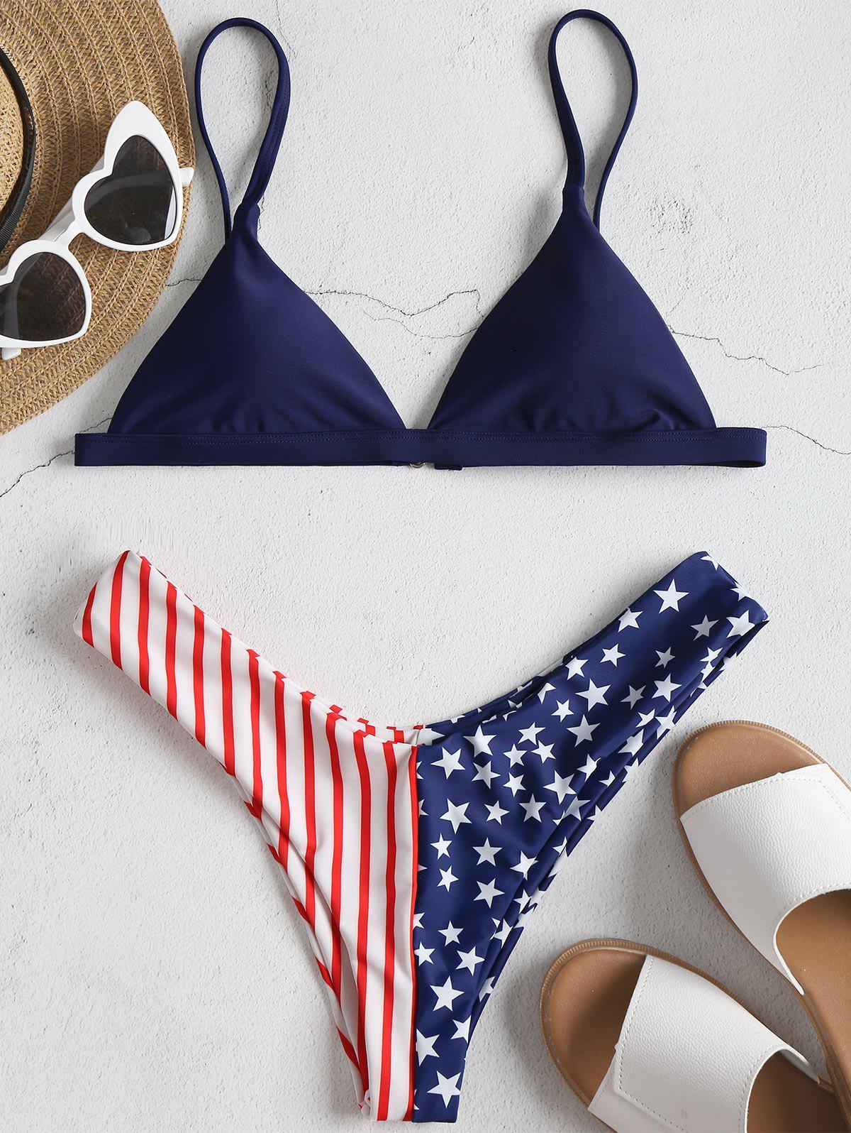 American Flag Bikini S