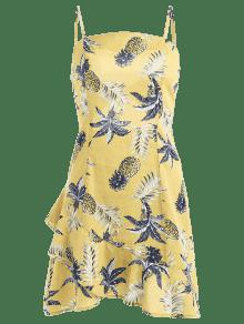 Cami Amarillo Anudado S De Vestido De a Sol Pi 7vCaxn