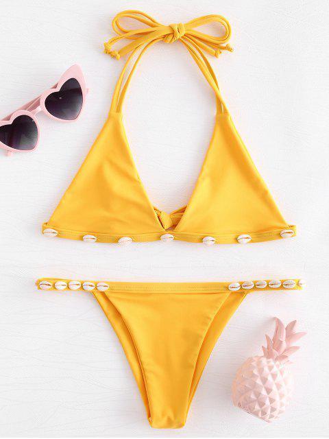 Conjunto de Bikini de Caza Descascarada - Caucho Ducky Amarillo S Mobile