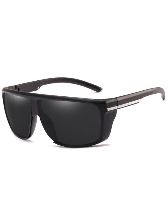 lady Lightweight Anti UV Full Frame Sunglasses - BLACK