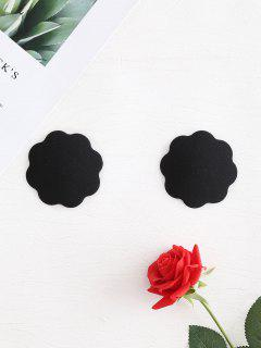 Nipple Covers Adhesive Petal Pasties - Black