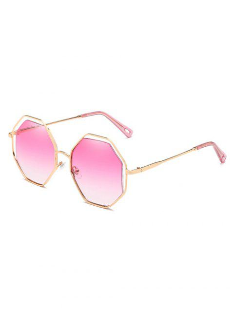 Anti Müdigkeit Rhomb Linse Sun Shades Sonnenbrille - Helles Rosa  Mobile