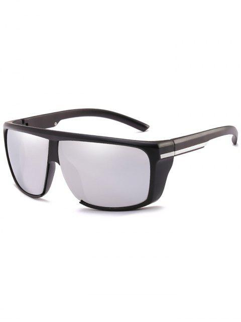 Leichte Anti-UV-Full-Frame-Sonnenbrille - Platin  Mobile