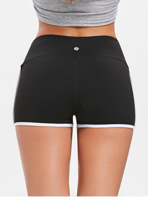 outfit Compression Gym Dolphin Shorts - BLACK L Mobile