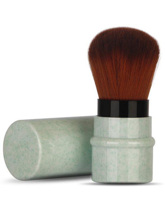 متعددة الوظائف فائقة من ألياف لينة تصغير شعر فرشاة ماكياج - إبهام أخضر