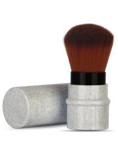 Multifunctional Ultra Soft Fiber Hair Telescoping Makeup Brush - Gray Goose