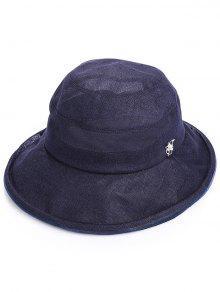 قبعة شمسية صيفية للعطل - منتصف الليل الأزرق