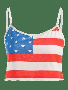 Superior Bandera De S Multicolor De Americana Cosecha La La Camisa 6wCnUqdxtU