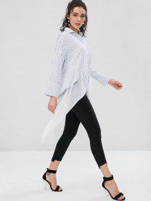 Camisa S 233;tricas Asim De Blanco Rayas 8qT4gwO8