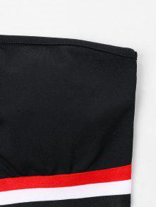 Rayas De Conjunto Pantal Rayas M Parcheadas Negro 243;n De Con xUwZavwq