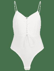Blanco Lace L Bodysuit Up Cut High wHxqFIH