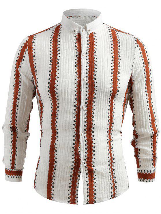 De Camisa De Verticales Camisa Casual De Casual Rayas Verticales Casual Camisa Rayas wn8mN0