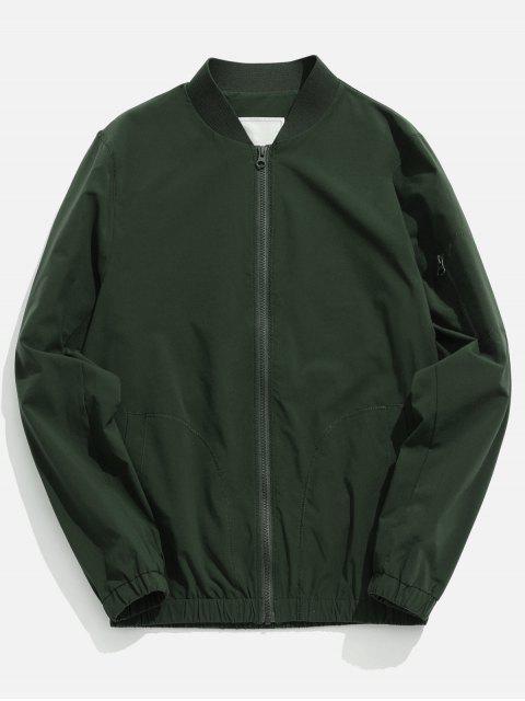 Veste de Base-ball Séchage Rapide avec Poches Zippée - Vert Camouflage 2XL Mobile