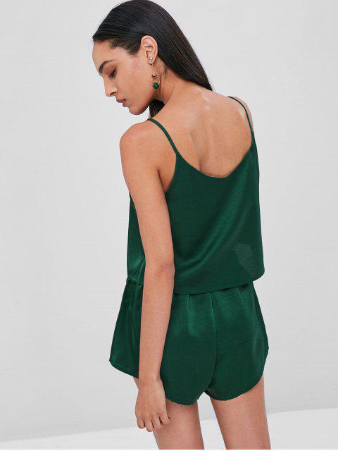 Haut Camisole et Short en Ensemble - Vert Mer Moyen S Mobile