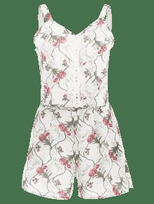 Blanco Ganchillo De Floral Ganchillo Top M Borde Set De Con wYZn4U6w8P