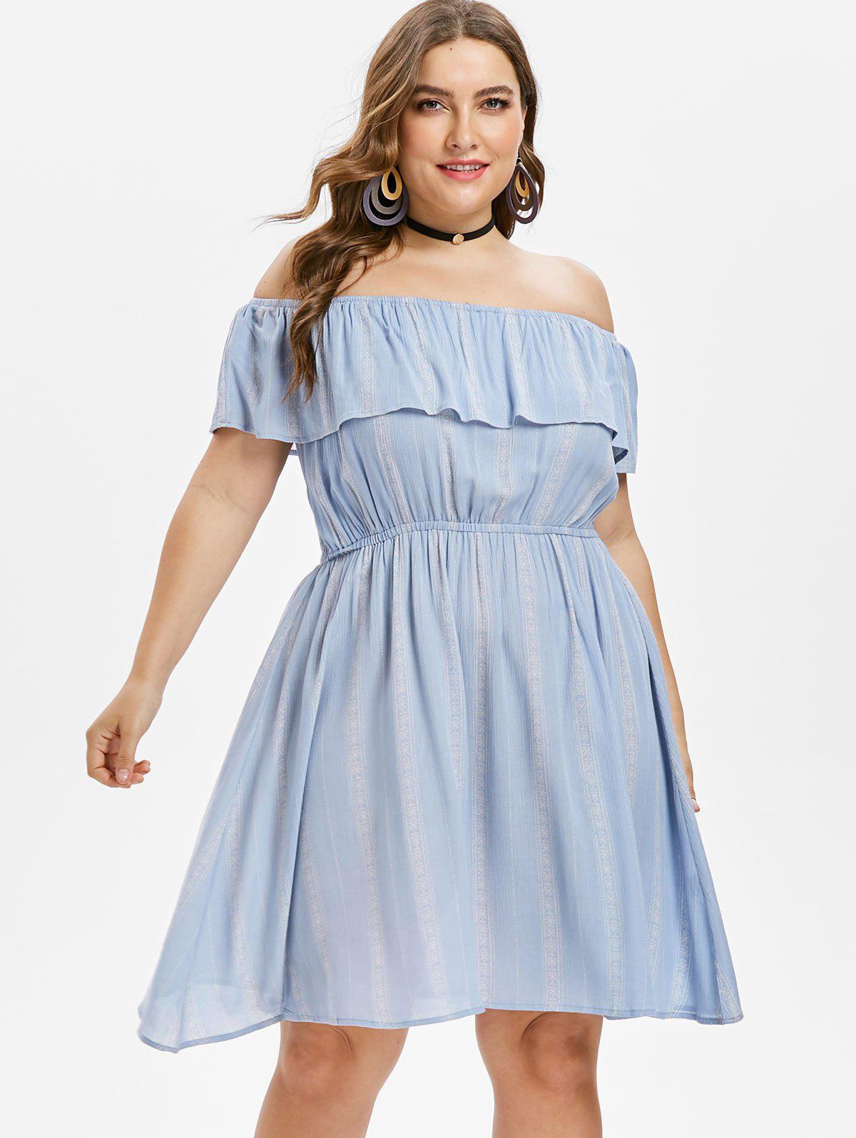 Flounce Plus Size Off