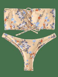 Blanco Bikini Conjunto De Grande De De Palabra Almendra Honor Talla 1x UxR1aF