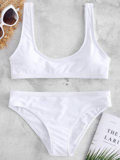 Sport Tank Bikini Set - White L