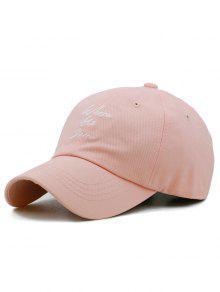 متعة إلكتروني التطريز قابل للتعديل قبعة الصيد - وردي فاتح