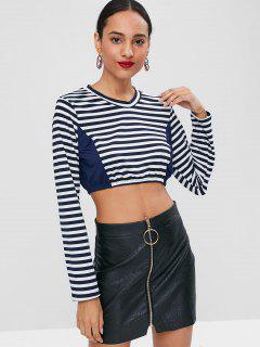 Cropped Striped Top - Multi S