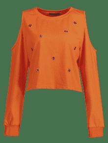 S Naranja Fr En 237;o Ojal Camiseta Con Cxw0qYYU