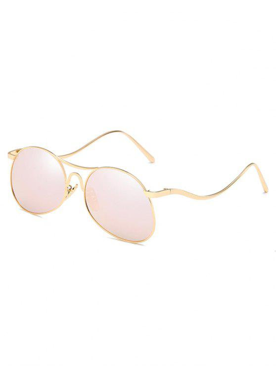 Lentille plate anti-fatigue Bent Legs Sunglasses - Rose Cochon