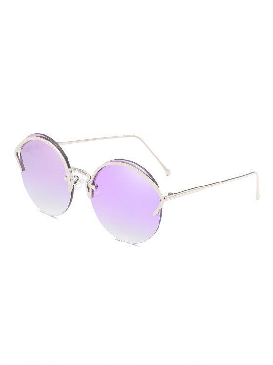 Óculos de sol sem aro sem moldura - Lilás