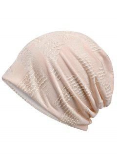 Lightweight Solid Color Breathable Beanie Hat - Desert Sand