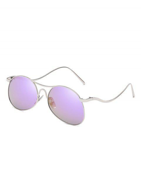 Anti-Ermüdung flache Linse verbogene Beine Sonnenbrillen - Flieder  Mobile