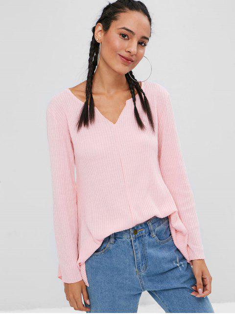 Pañuelo de punto acanalado - Chicle Rosa M Mobile