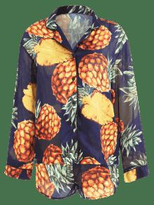De Multicolor De Tropical Pi Y Pantal Camisa Conjunto M a 243;n qzYYd