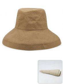 1bd5bad4617b0 17% OFF] 2019 Portable Solid Color Lightweight Fisherman Hat In ...