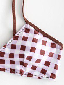 A Conjunto Grande Bikini Casta Cuadros De L Rojo Talla o qf1xfPBw
