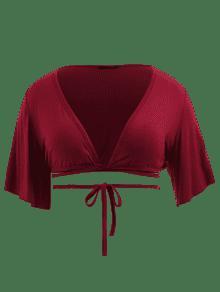 Tinto Con Vino Pliegue Grande 1x Cuello Y Redondo Talla Camiseta vHfqZWf