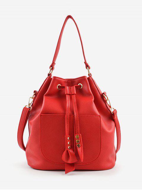 Minimalist String Leisure Bolso bandolera multiusos - Rojo  Mobile