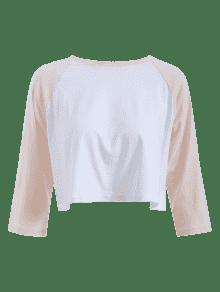 Ragl Dos 225;n Manga Blanco Tonos Camiseta S 5qgF6PPa