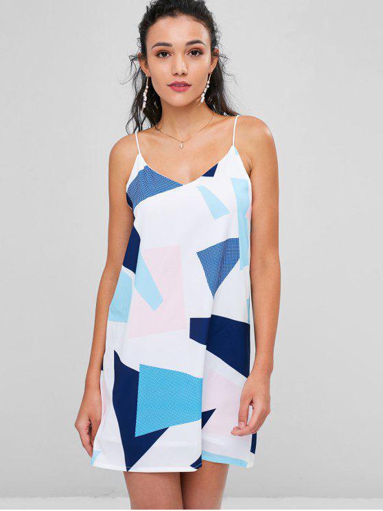 Cami Mini-robe géométrique - Multi L